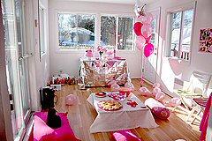 Great teen birthday ideas: Sophisticated teen party décor