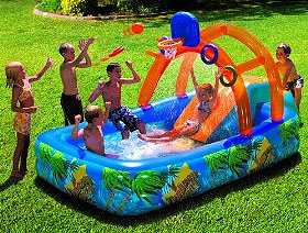 Summer Birthday Party That The Kids Will Be Able To Use For Rest Of Check Out These Terrific Outdoor Water Fun Slides Under 100