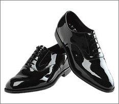 Cardi Men's Bellagio Tuxedo Shoes, Black, 6.5 D(M) US